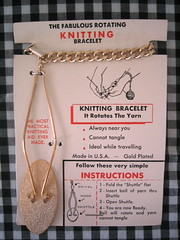 the fabulous rotating knitting bracelet