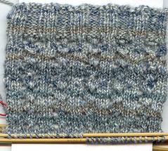 lovely lace socks 1 progress 21-03-06