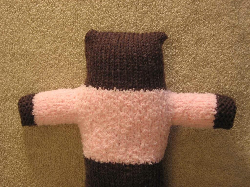 Pink Bear sans face
