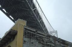 Bay Bridge von unten