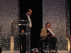 Jim Hackett. CEO Steelcase, and John Hockenberry