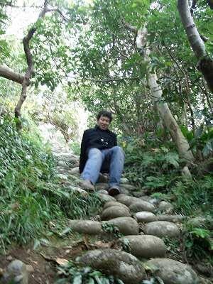 20051218 裏見ヶ滝温泉 遊歩道2