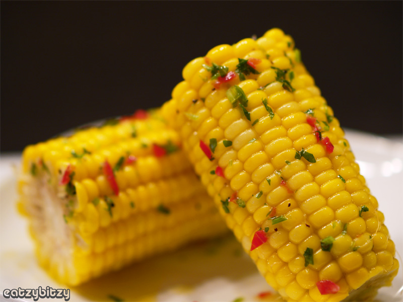 Spiced Corn-on-the-Cob