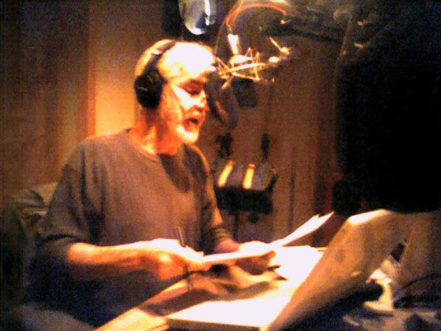 Chris Lydon in the studio
