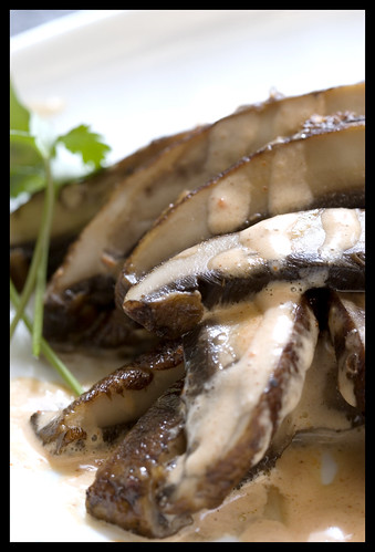 Roasted Portobello Mushrooms with Chipotle Cream