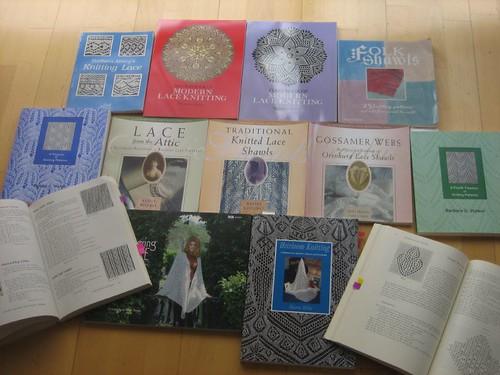 Lace knitting books