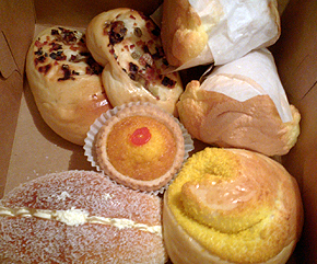 chinese bakery foodstuffs