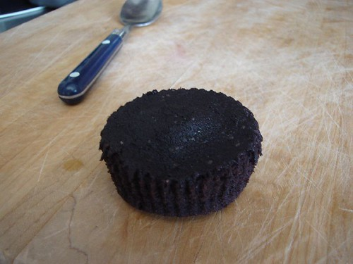 chocolate cupcake, batch one