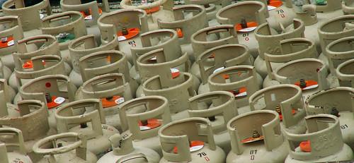 Lisboa - gas cylinders