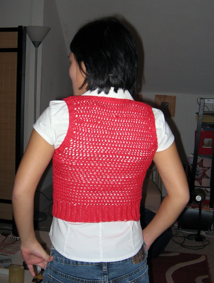 Caliente vest back