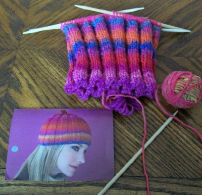 Vogue freebie Noro hat
