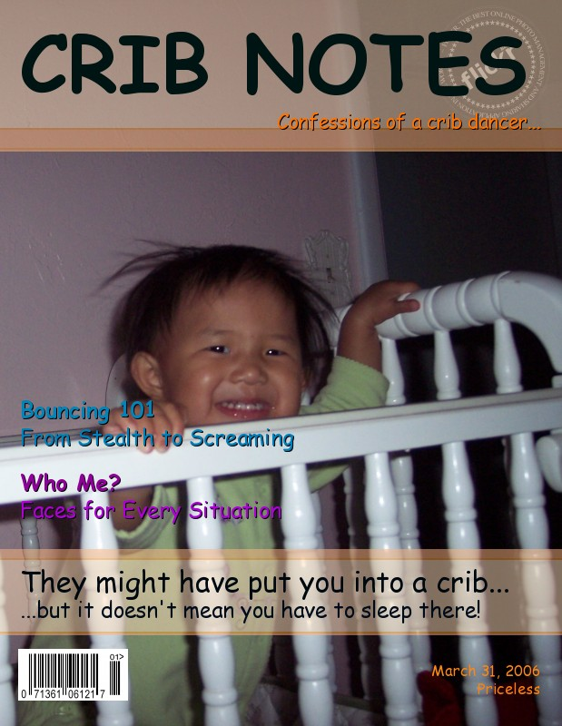 CRIB NOTES Mag Cover