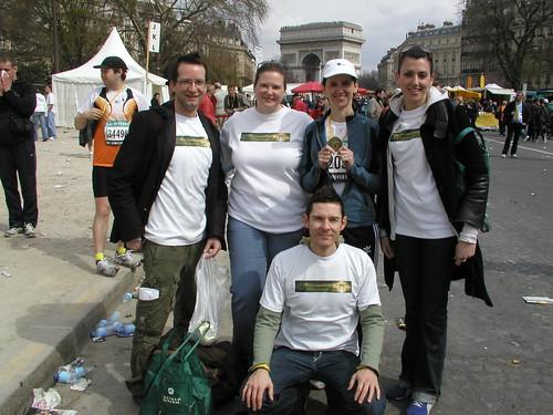 Paris Marathon April 2006 014