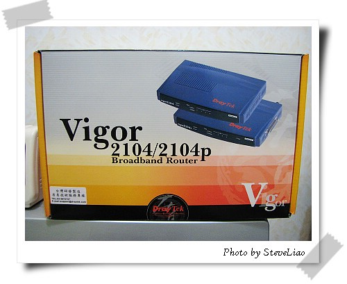 Vigor 2104P外箱照