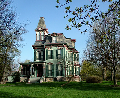 Michigan architecture a sampling of spectacular homes for Second empire victorian house plans