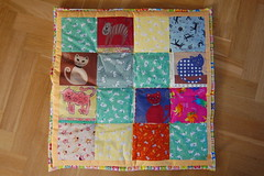Cat quilt from mom