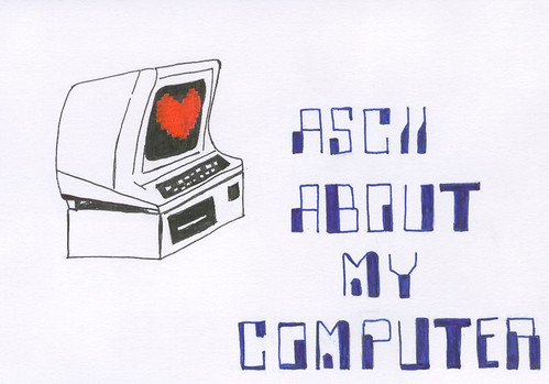 ascii about my computer