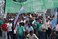 movilizacion en argentina