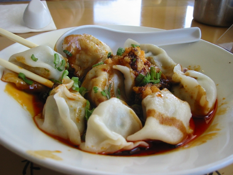 Chinese italian pierogi early fusion food general for Asian cuisine athens al