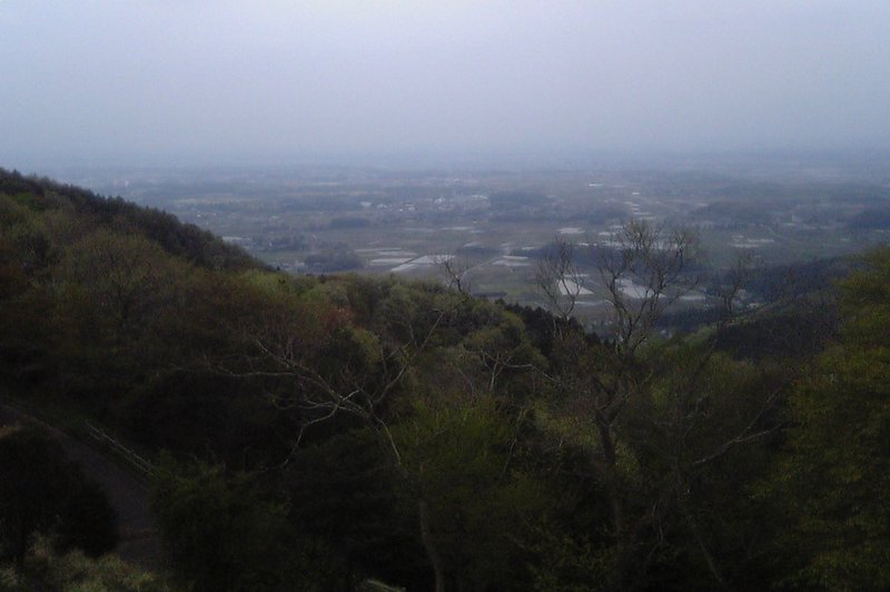 View from Mt. Tsukuba