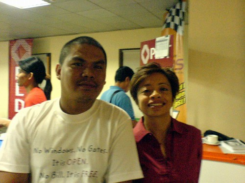With Philippine media icon Sheila Coronel