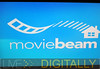 Moviebeam logo when starting a movie