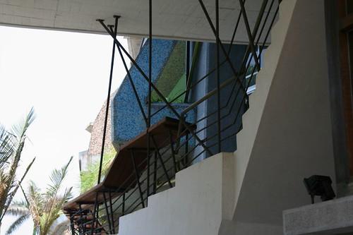 新穎的樓梯扶手