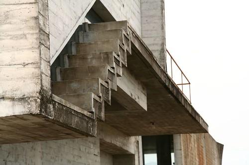 特別的樓梯間採光設計