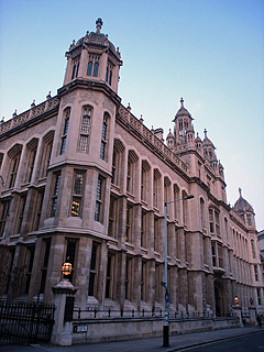 Maughan Library(ロンドン大学キングス・カレッジ)