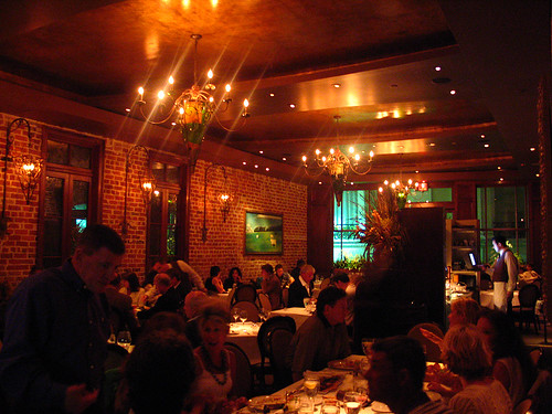 Restaurant Cuv´e, Interior, 9pm