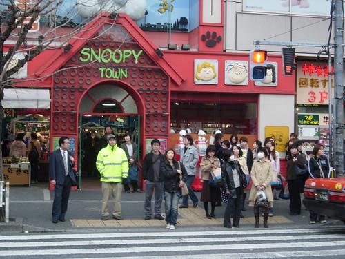 Tienda Snoopy y tienda Hello Kitty class=