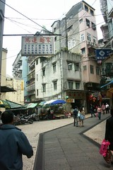 Streets in Macau