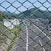 与瀬神社の上から中央道。