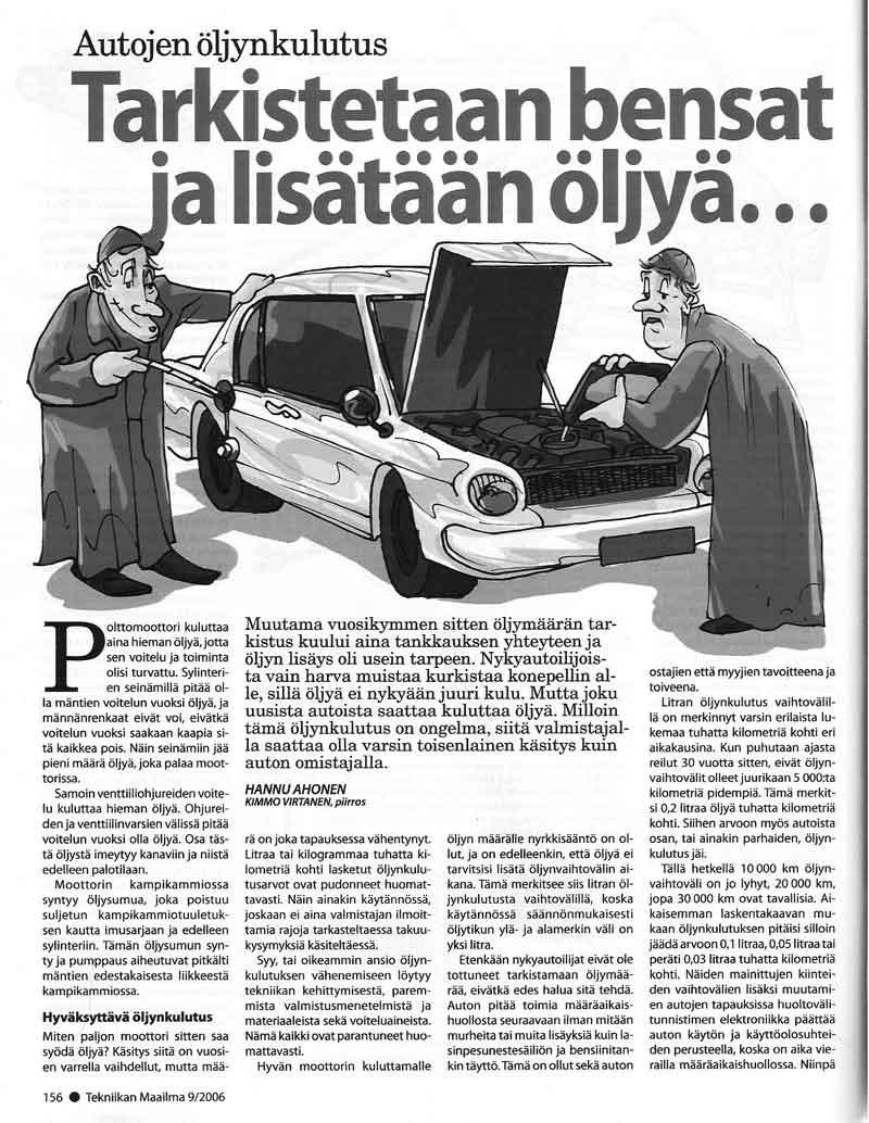 Audi a6 öljynkulutus