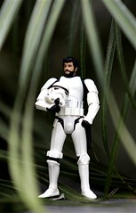 Aren't you a little beardy for a stormtrooper?