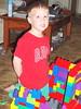Tad & his lego castle