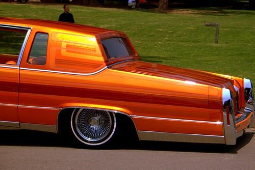 Parked Orange Ride