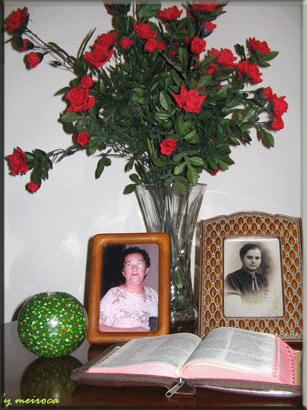 Homenagem a minha mae e minha sogra.
