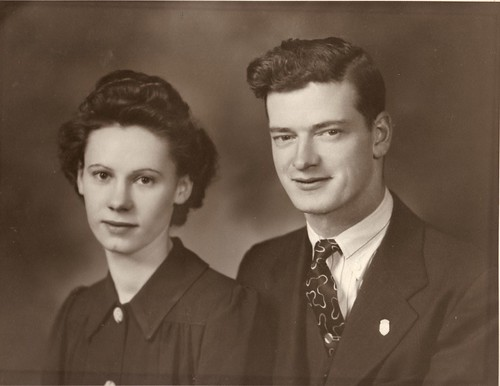 Mom and Dad circa 1945
