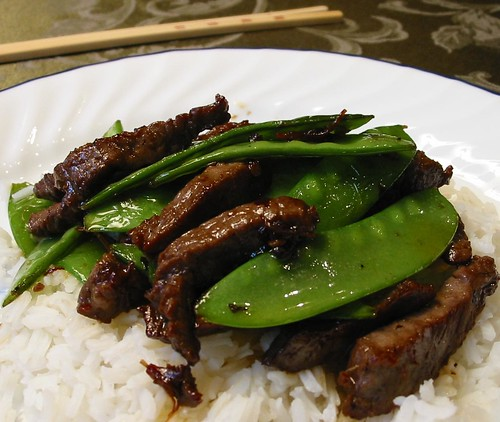 The Spice Must Flow: Beef and Snow Peas with XO Sauce