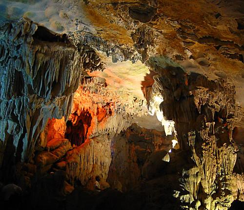 Cave interior (detail)