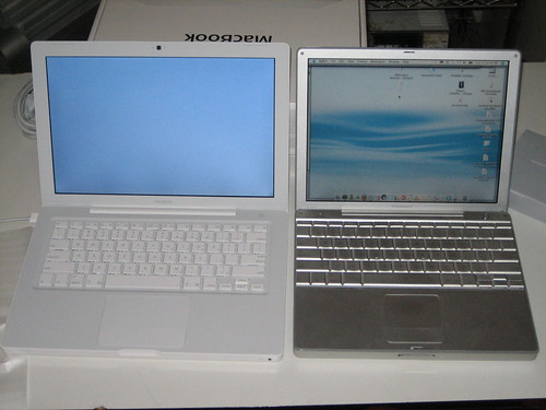 PowerBook vs. MacBook