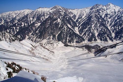 大觀峰前立山索道