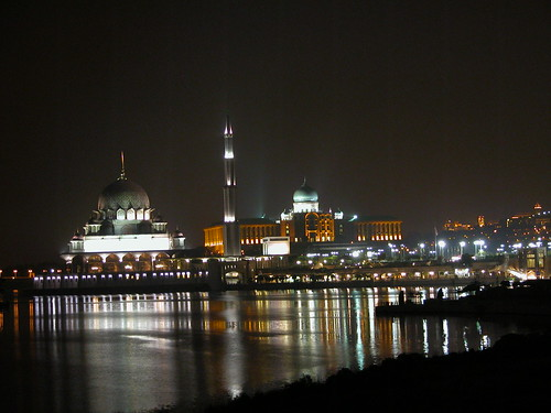 Putrajaya night view