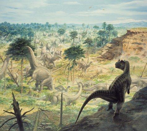 ceratosaur landscape