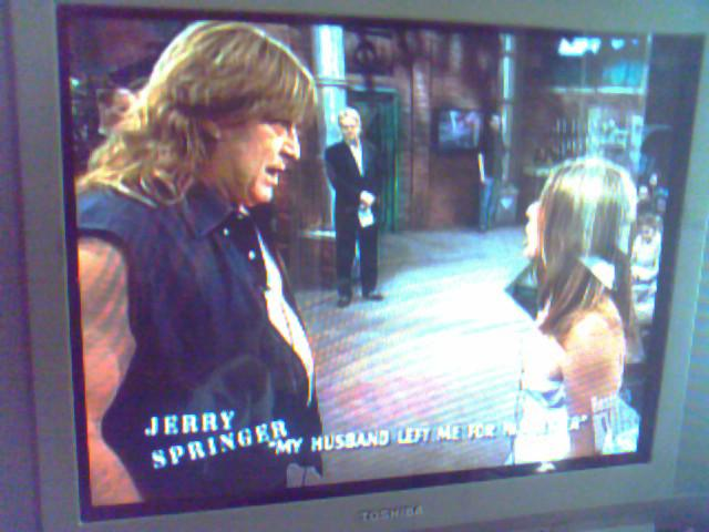 Jerry Springer Screen Recap