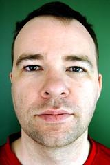 Darren, pre-shave