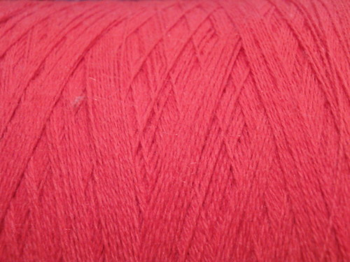 Lace Weight Wool!  Red