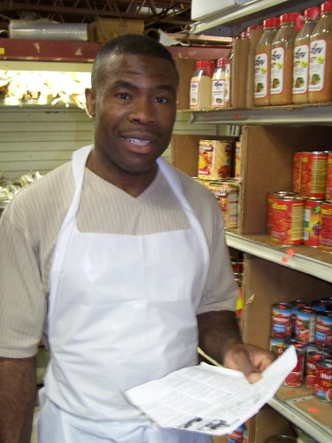 Joe Njiaju, Owner, All African Food Store, 1325-D 6th Street NE