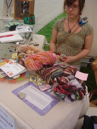 Fine Arts Fiesta in Wilkes-Barre Pa.fiber artist Rachel Marie